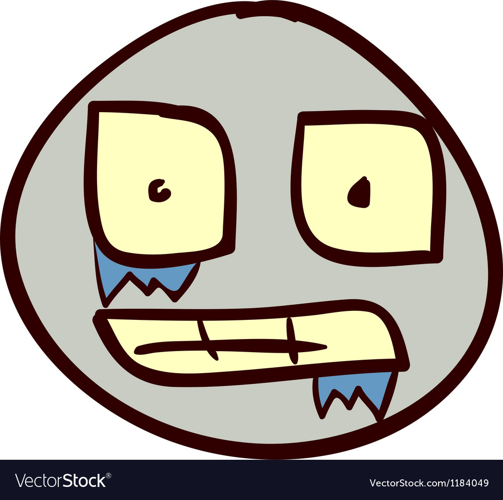 Smiley doodle 27 vector | Price: 1 Credit (USD $1)