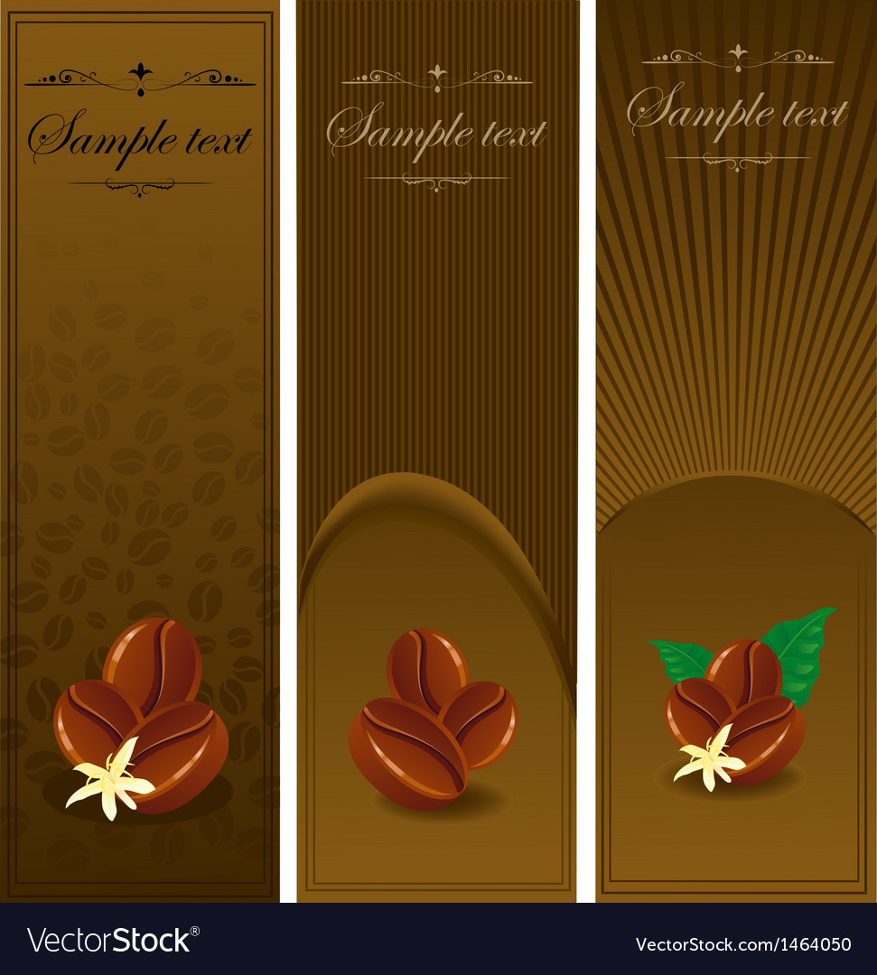 Coffee banners vector   Price: 1 Credit (USD $1)