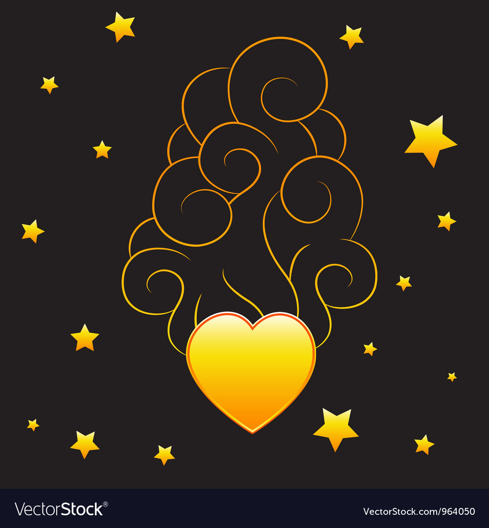 Heart with smoke vector | Price: 1 Credit (USD $1)