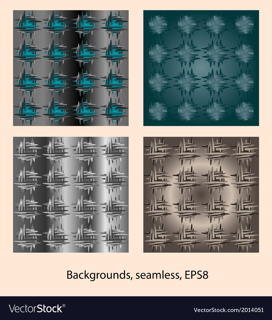 Abstract patterns background seamless vector | Price: 1 Credit (USD $1)