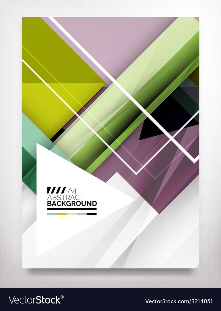Flyer brochure design template vector   Price: 1 Credit (USD $1)