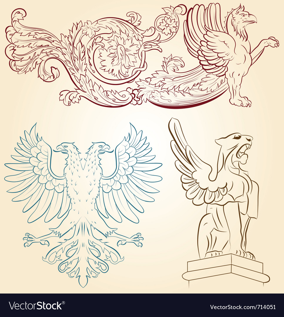 Heraldry vector | Price: 1 Credit (USD $1)
