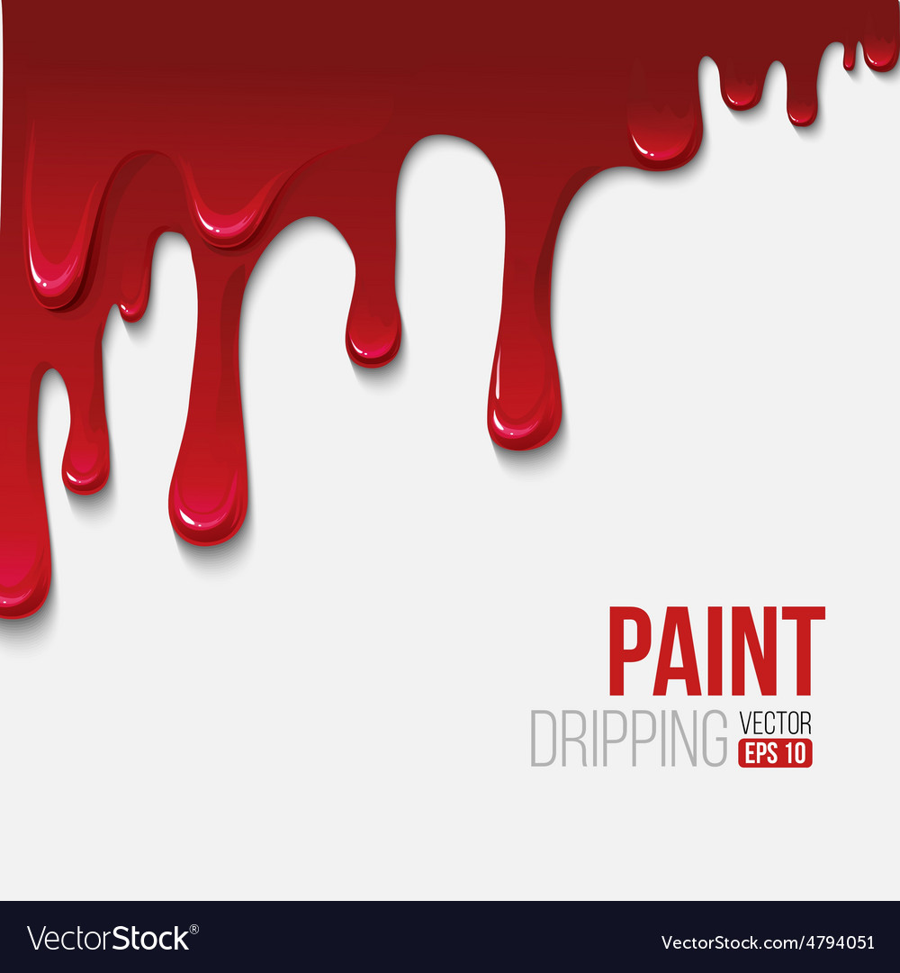 Paint colorful dripping background vector | Price: 1 Credit (USD $1)