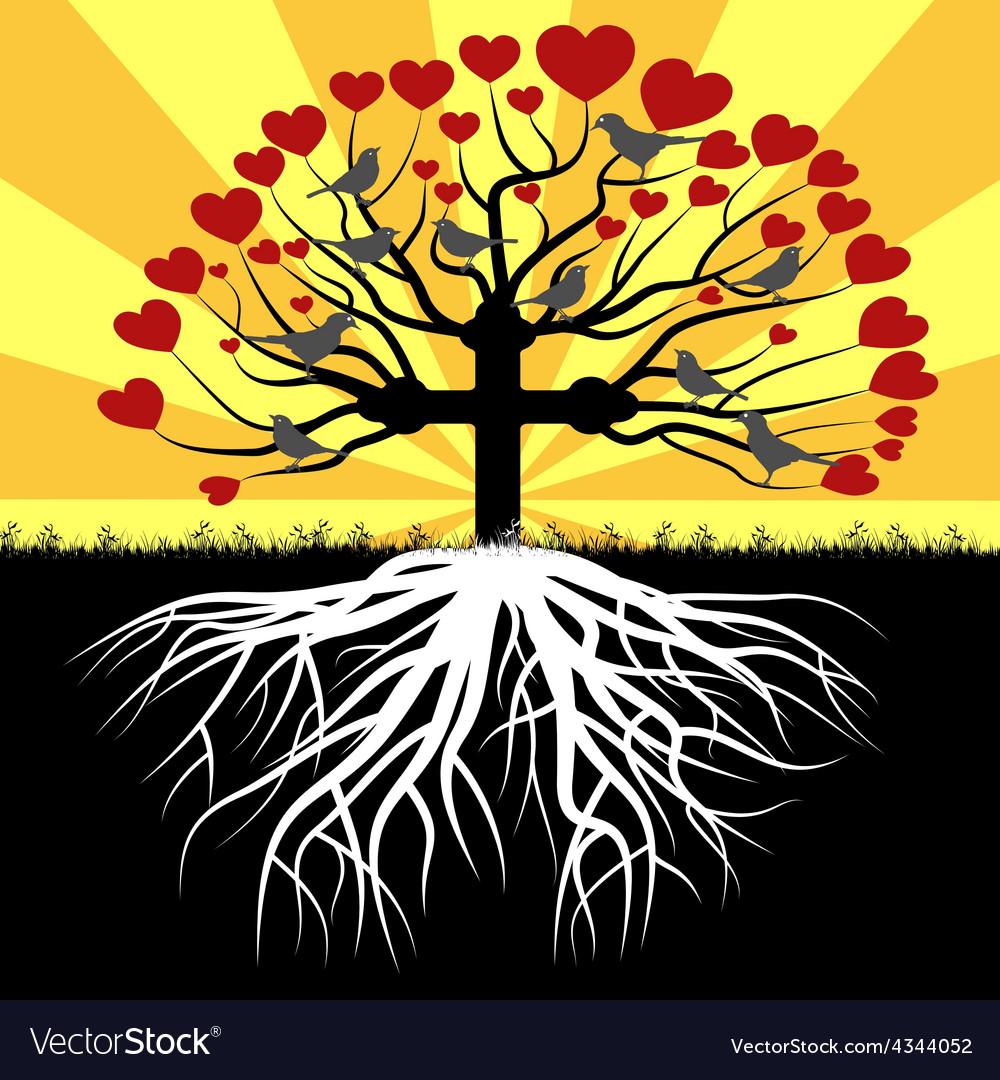 Orthodox tree vector | Price: 1 Credit (USD $1)