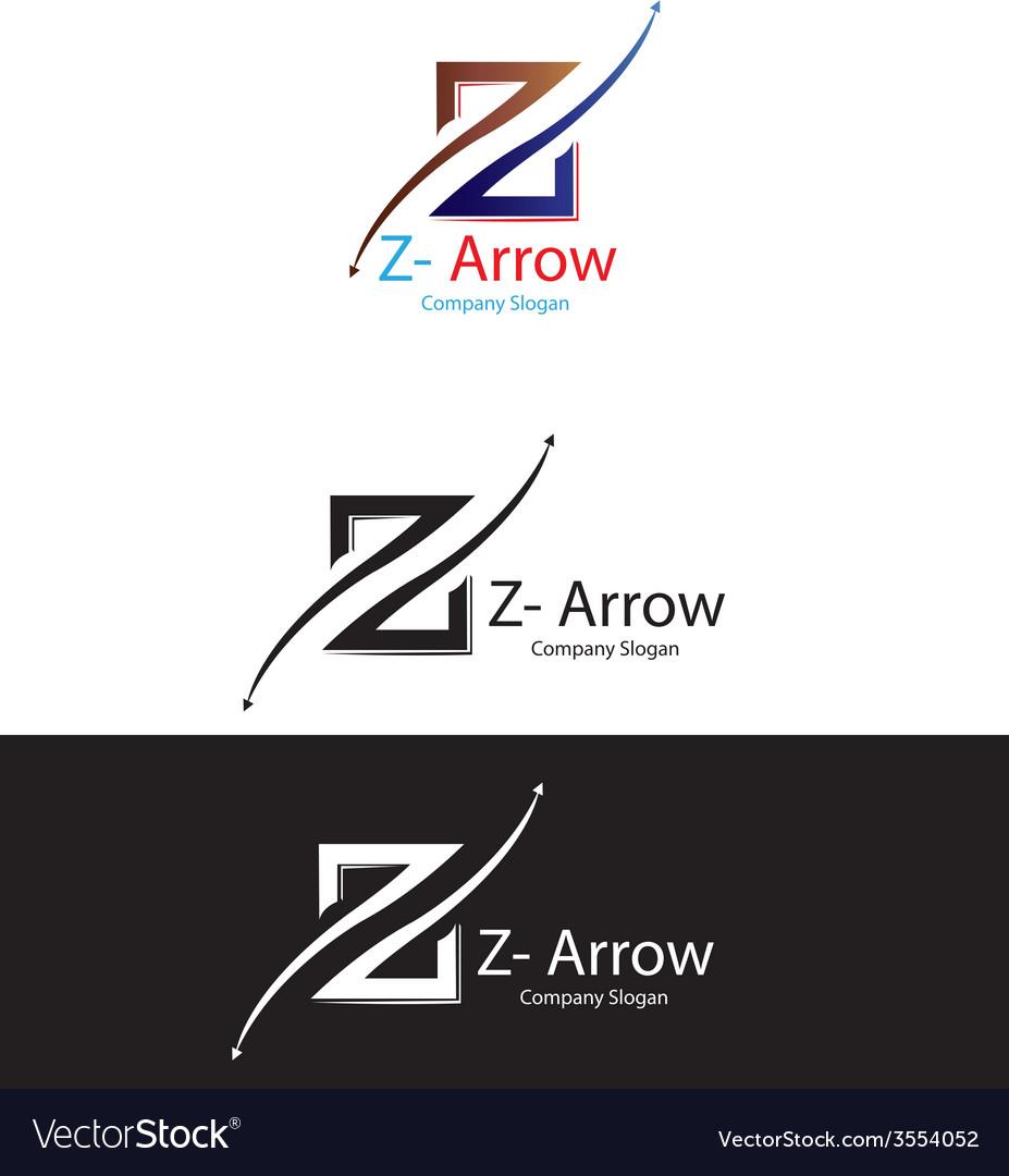 Z arrow logo vector   Price: 1 Credit (USD $1)