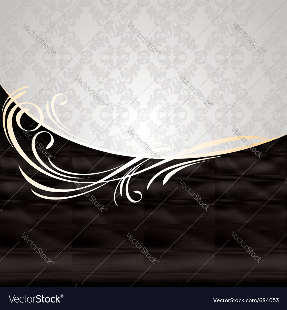 Beige silk curtain vector | Price: 1 Credit (USD $1)