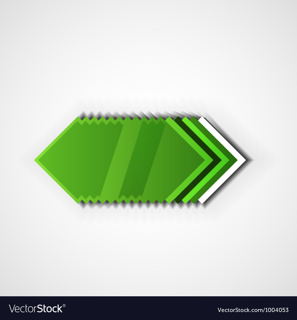 Green pointer vector | Price: 1 Credit (USD $1)