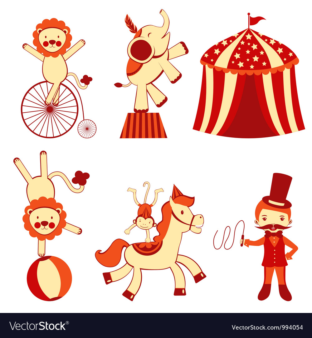 Cute circus vector | Price: 3 Credit (USD $3)