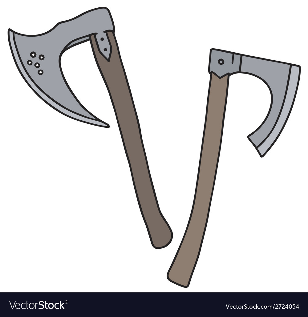 Ketch axes vector | Price: 1 Credit (USD $1)
