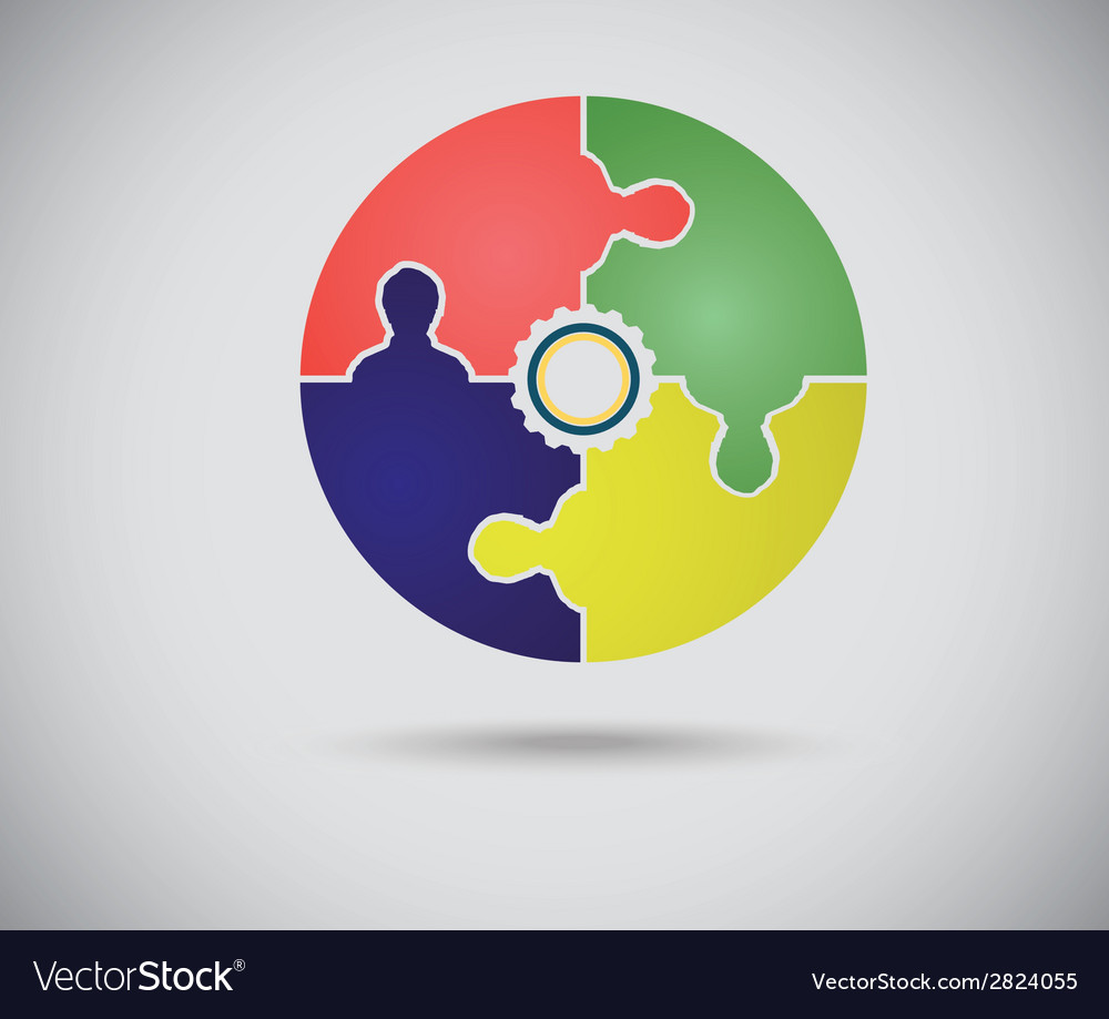 Abstract color circle vector | Price: 1 Credit (USD $1)