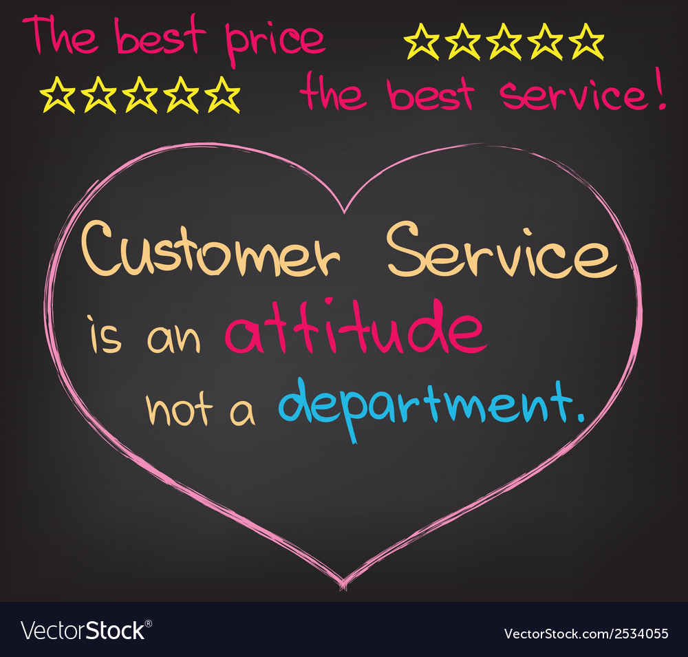 The best price the best service vector | Price: 1 Credit (USD $1)