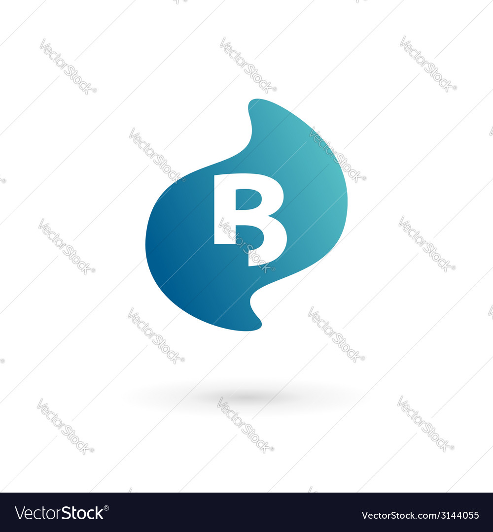 Letter b logo icon vector | Price: 1 Credit (USD $1)