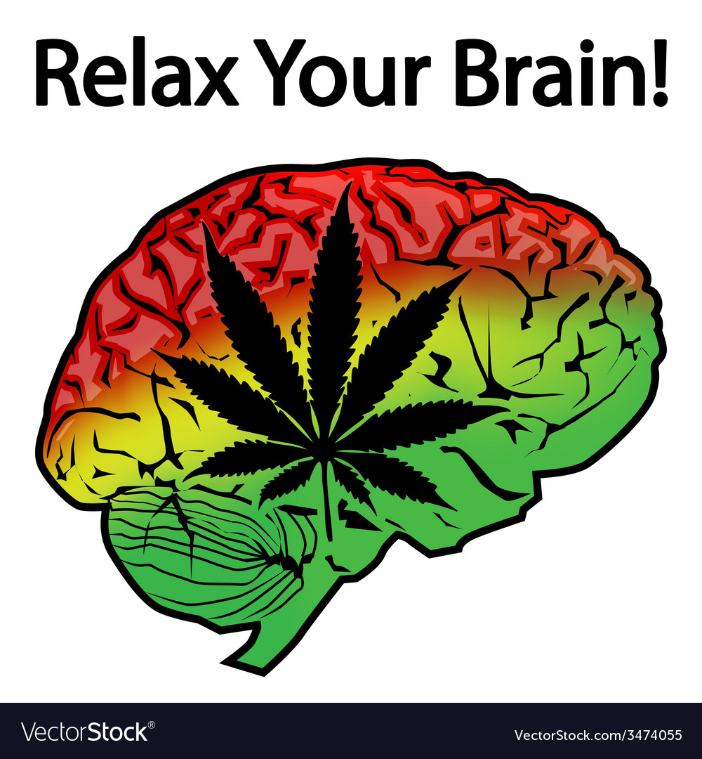 Relax your brain vector | Price: 1 Credit (USD $1)