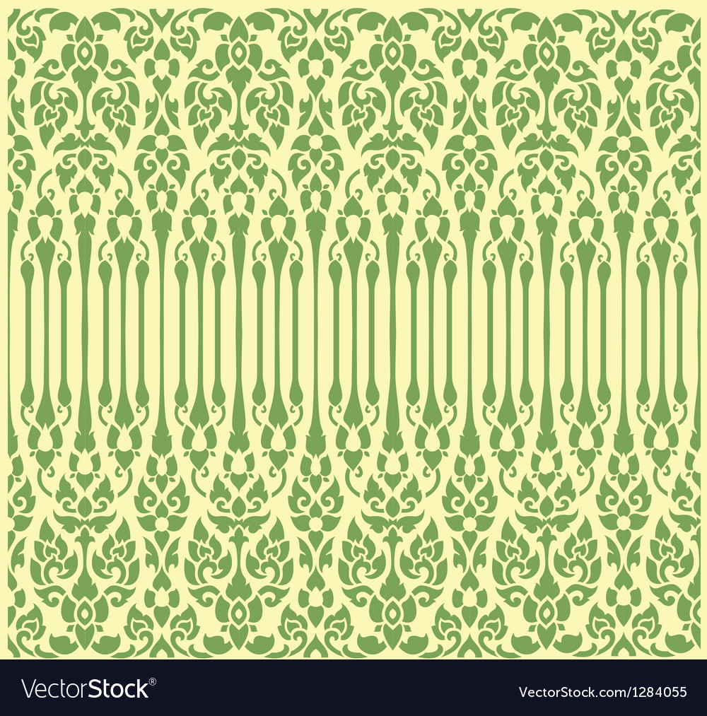 Seamless vine pattern vector | Price: 1 Credit (USD $1)