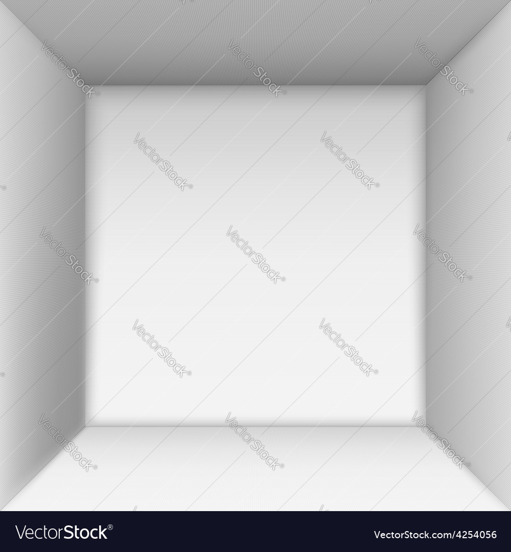 Box top view vector | Price: 1 Credit (USD $1)