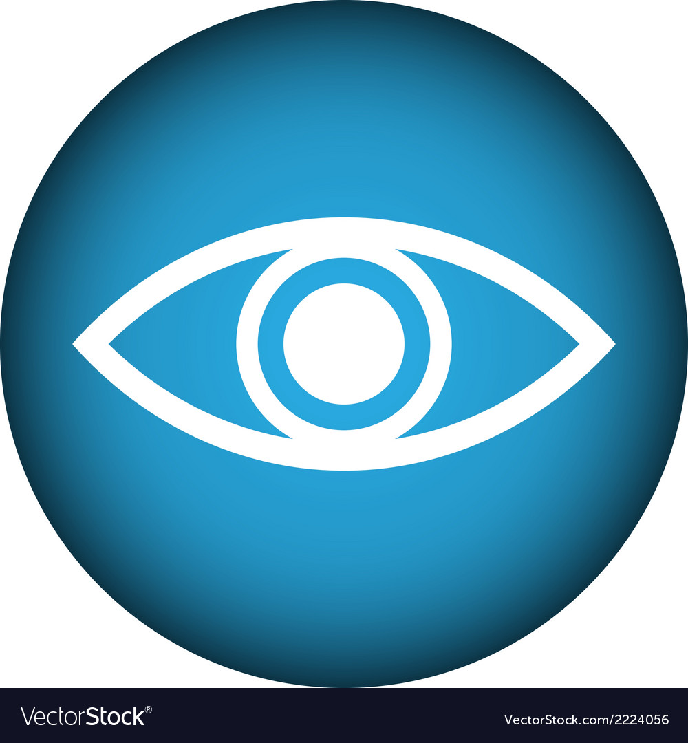 Eye button vector   Price: 1 Credit (USD $1)
