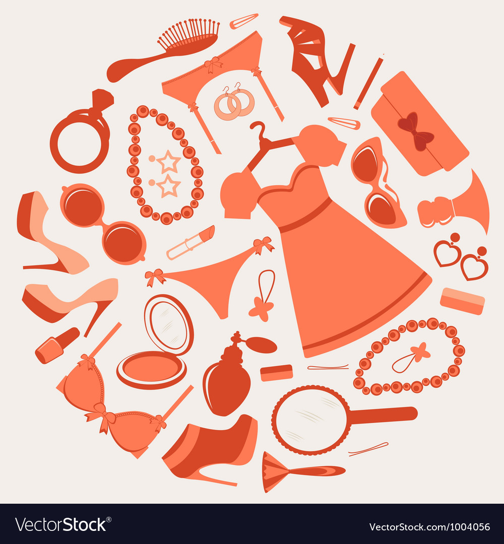 Fashion composition vector | Price: 1 Credit (USD $1)