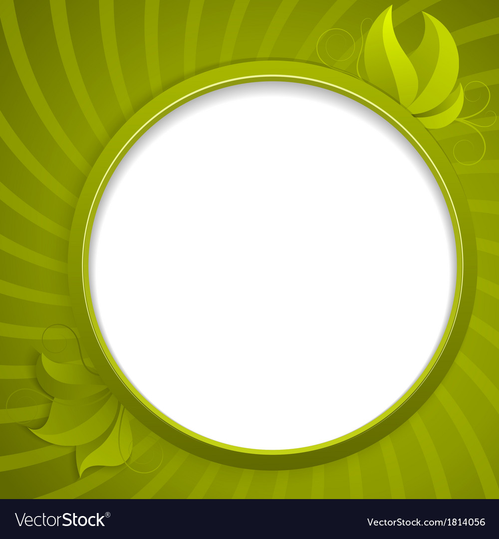 Round design element for information vector | Price: 1 Credit (USD $1)