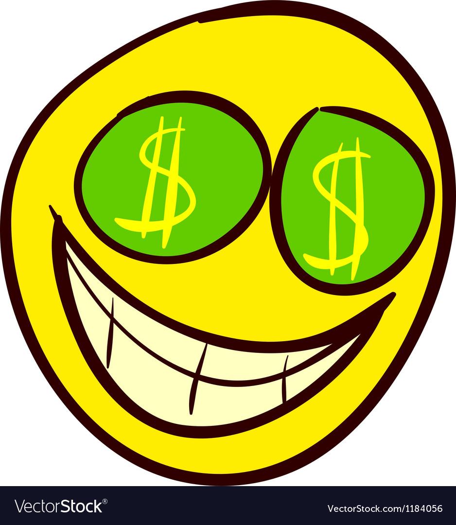 Smiley doodle 31 vector | Price: 1 Credit (USD $1)