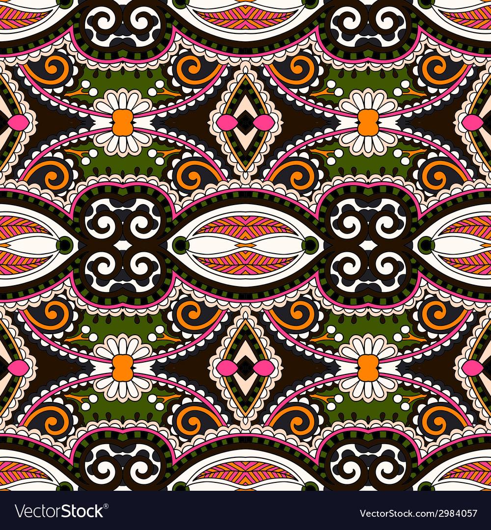 Geometry vintage floral seamless pattern vector | Price: 1 Credit (USD $1)