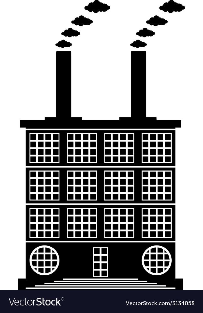 Factory building icon vector   Price: 1 Credit (USD $1)