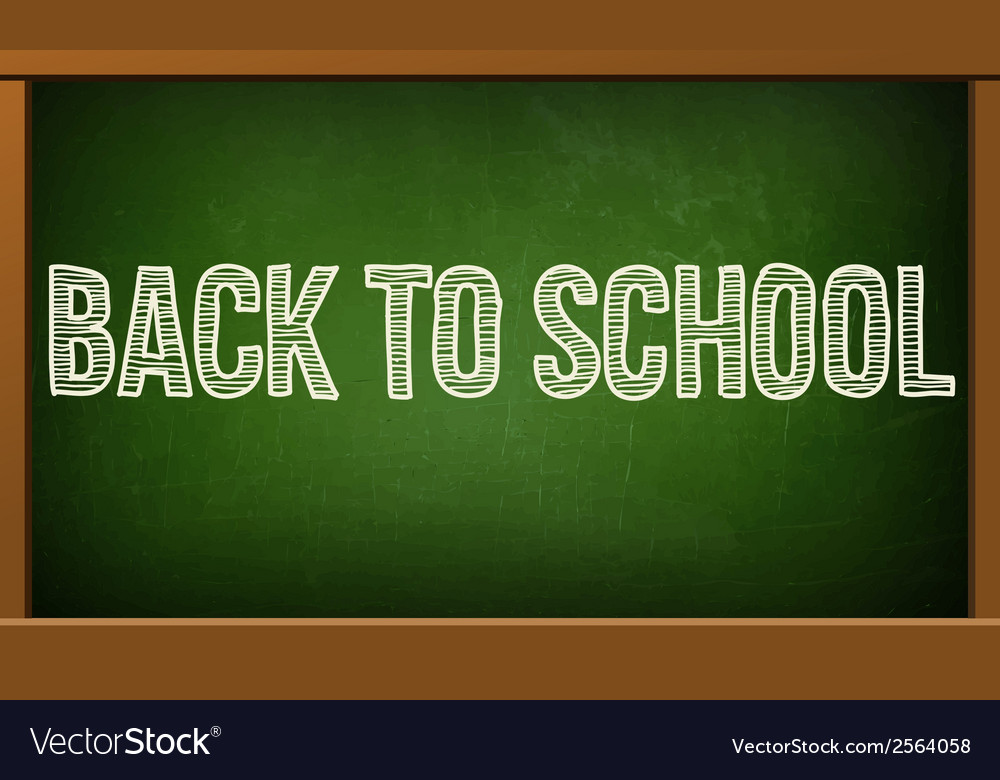 Green board with text on chalkboard vector   Price: 1 Credit (USD $1)
