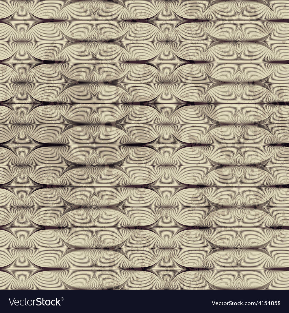 Guilloche pattern with grunge effect vector | Price: 1 Credit (USD $1)