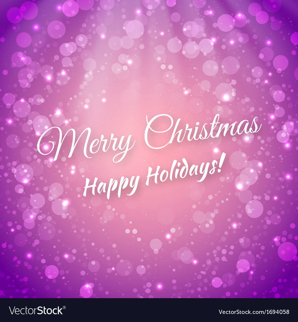 Merry christmas blurred festive background vector | Price: 1 Credit (USD $1)