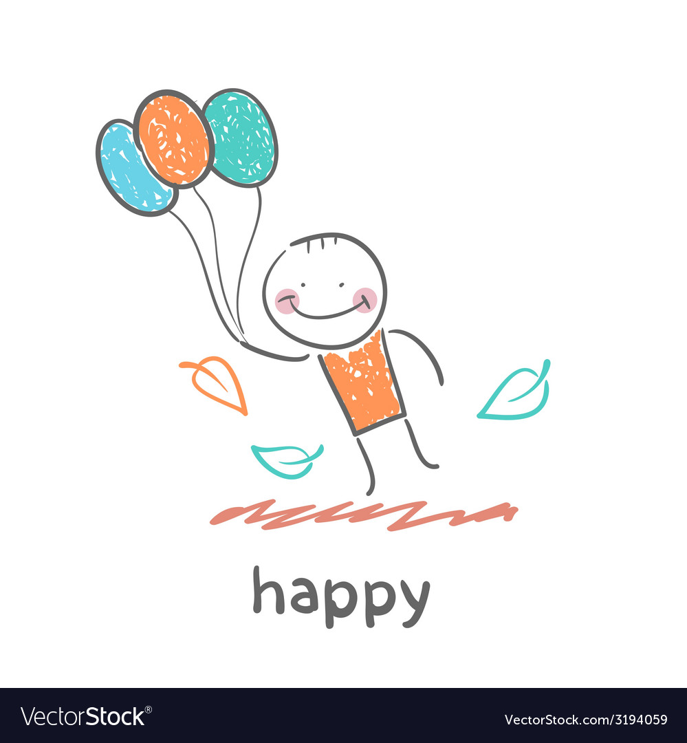 Happy vector | Price: 1 Credit (USD $1)