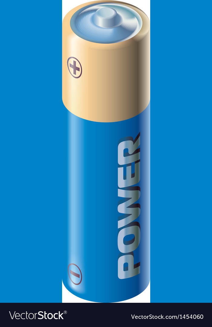 Aa battery vector | Price: 1 Credit (USD $1)