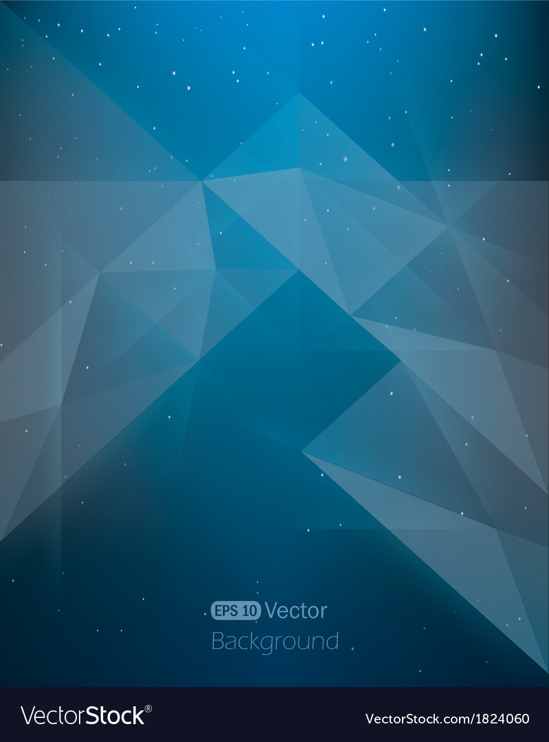 Abstract dark blue background diamond style in vector | Price: 1 Credit (USD $1)