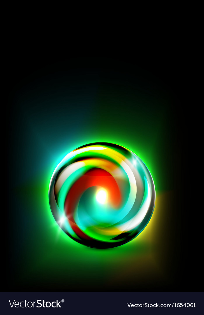 Abstract glowing ball for your design vector | Price: 1 Credit (USD $1)