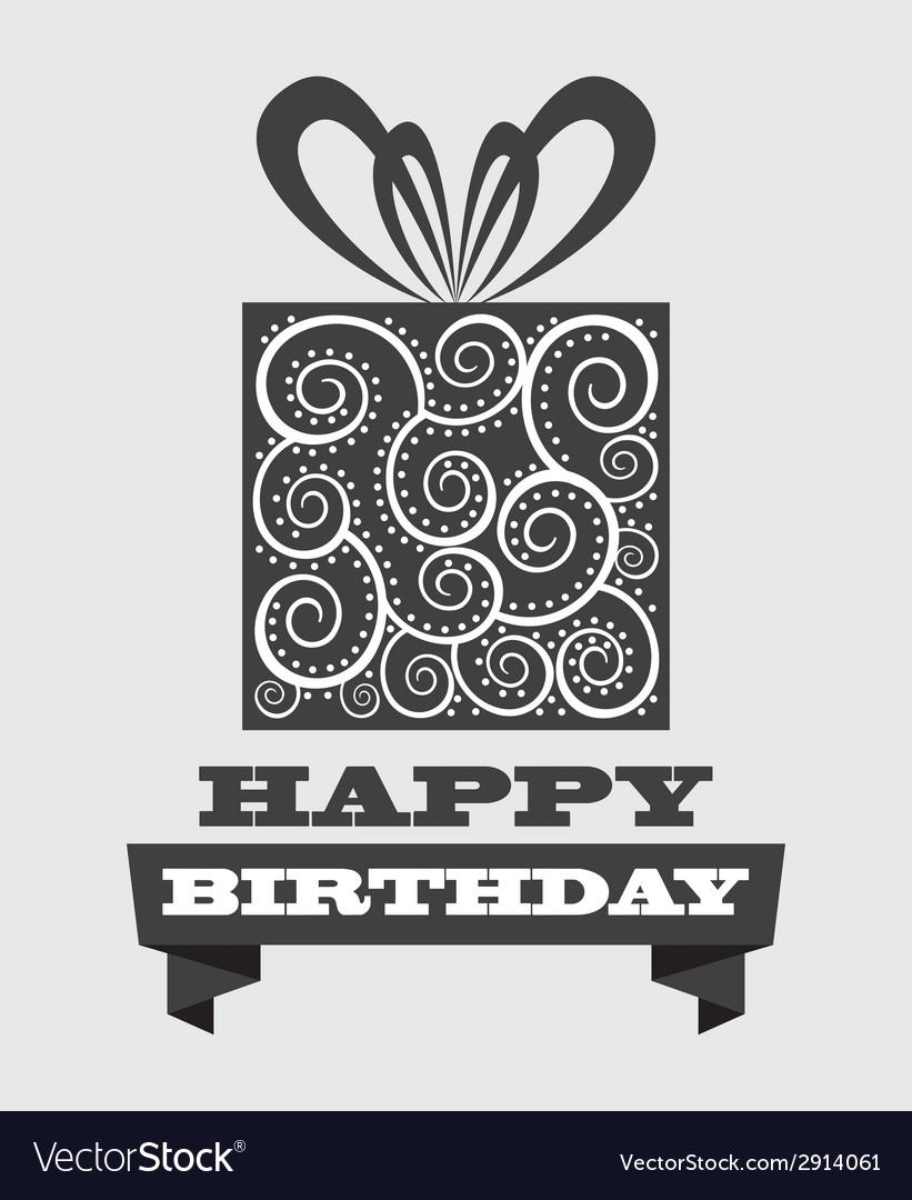 Birthday design vector | Price: 1 Credit (USD $1)