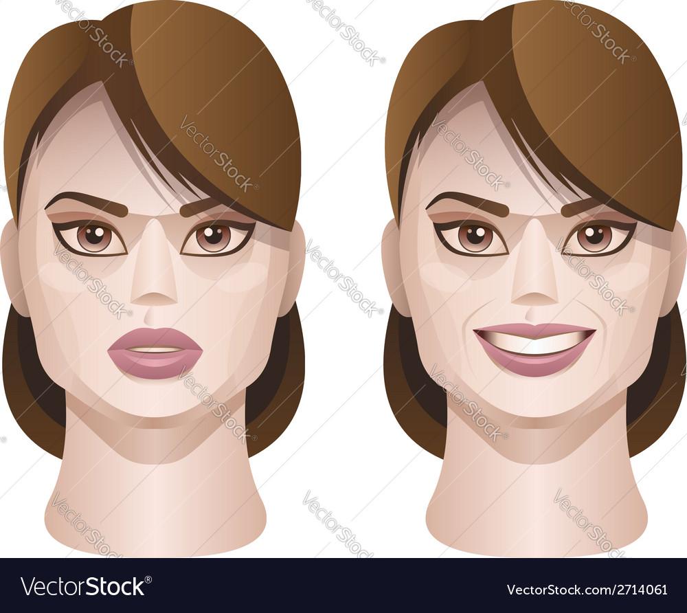 Female faces vector   Price: 1 Credit (USD $1)