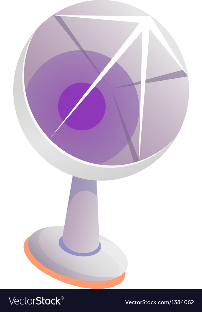 Icon antenna vector | Price: 1 Credit (USD $1)