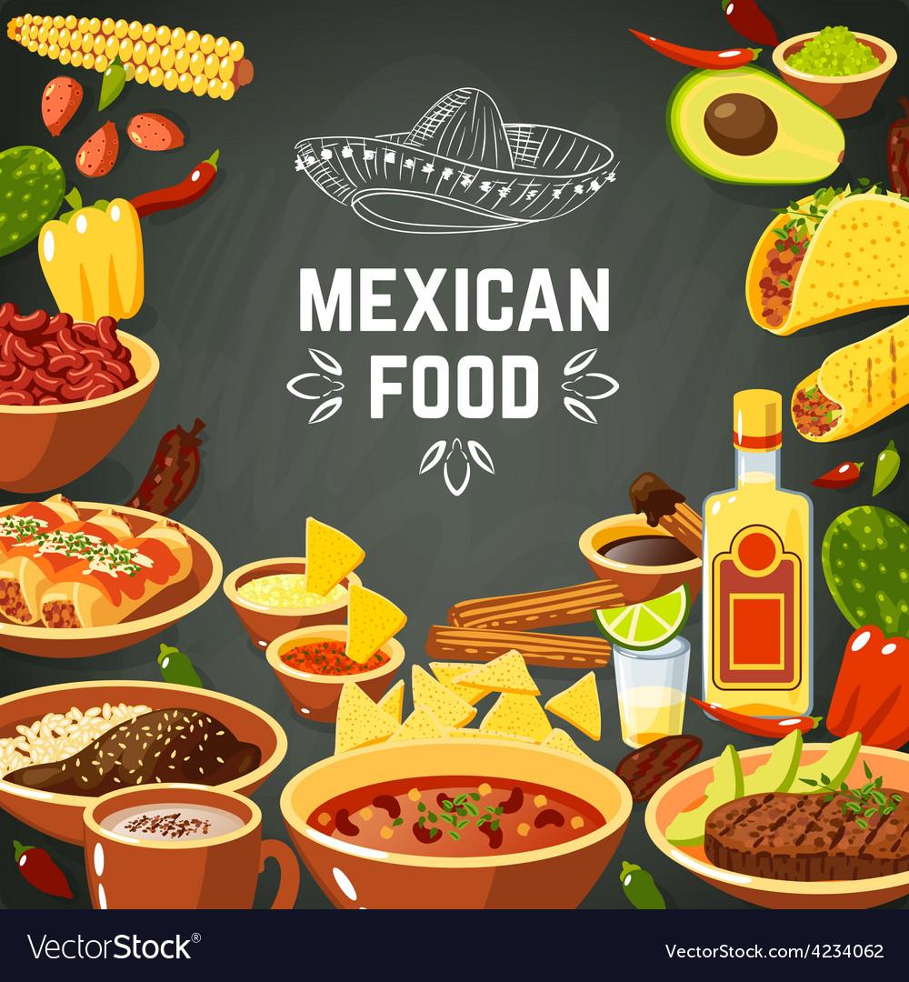 Mexican food vector   Price: 1 Credit (USD $1)