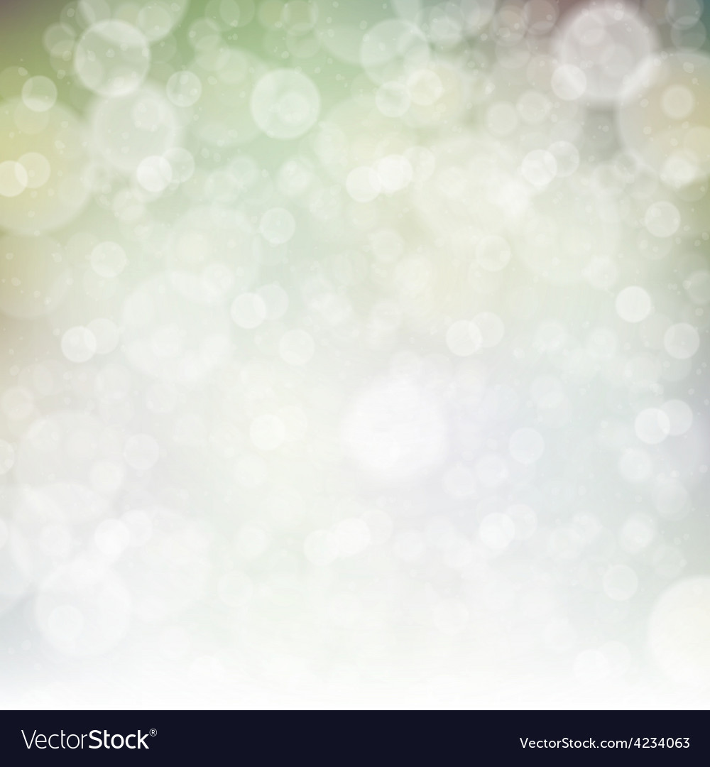Abstract spring bokeh background vector | Price: 1 Credit (USD $1)