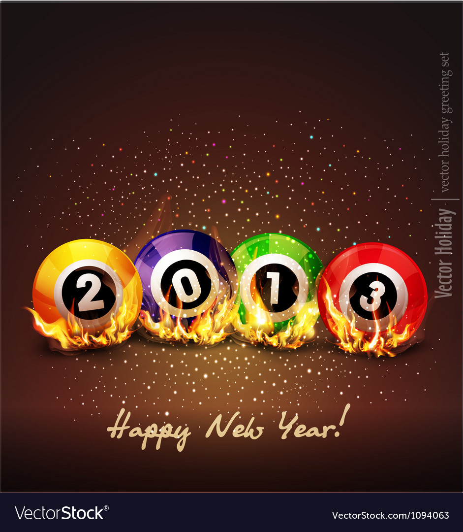 Background 2013 vector | Price: 1 Credit (USD $1)