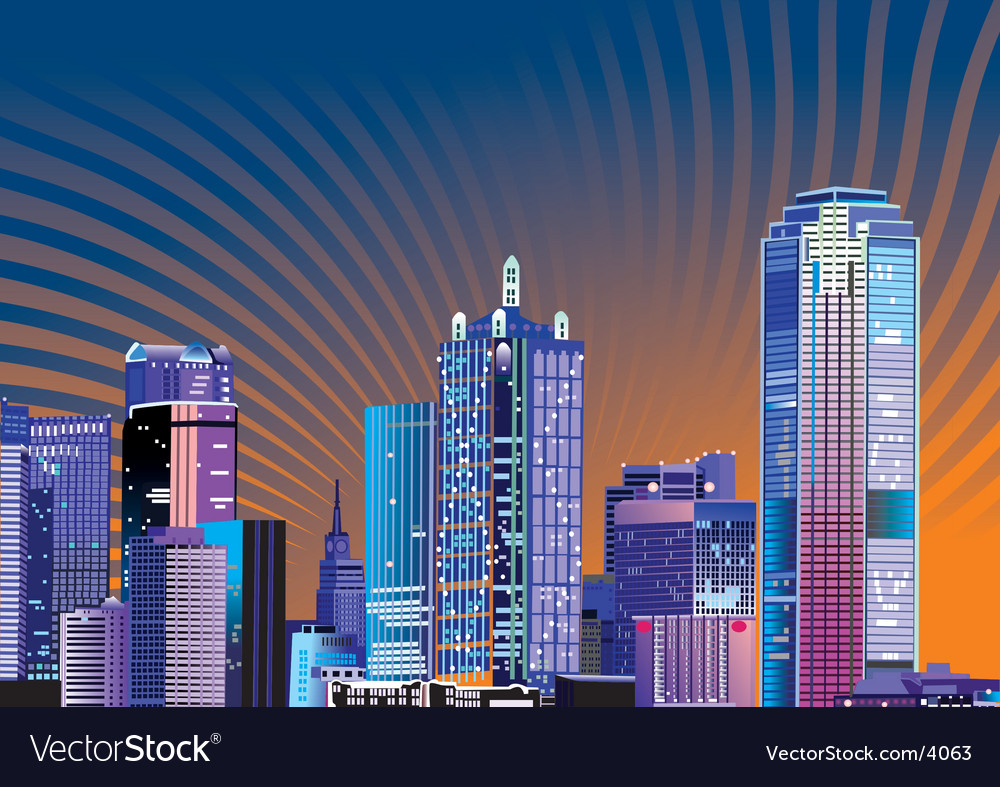 City illustration vector | Price: 3 Credit (USD $3)