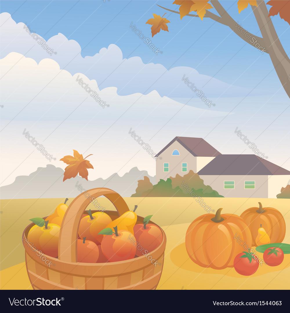Harvest vector | Price: 1 Credit (USD $1)