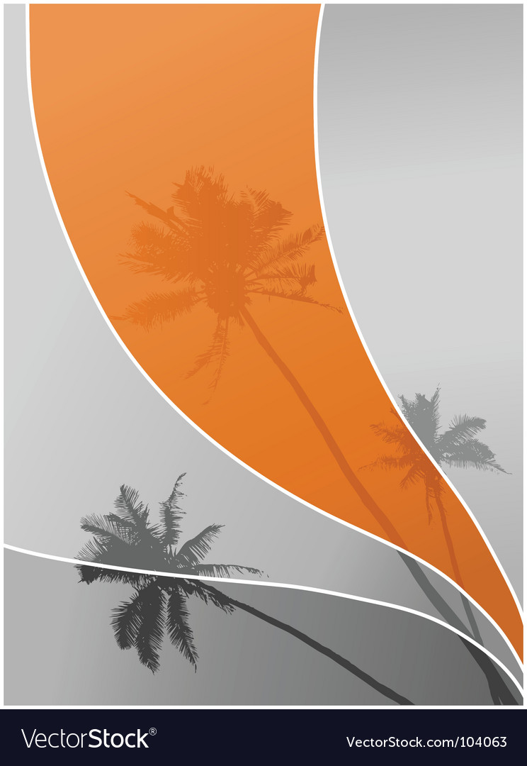 Palm trees vector | Price: 1 Credit (USD $1)