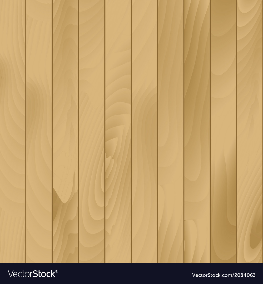 Seamless wood plank texture background vector | Price: 1 Credit (USD $1)