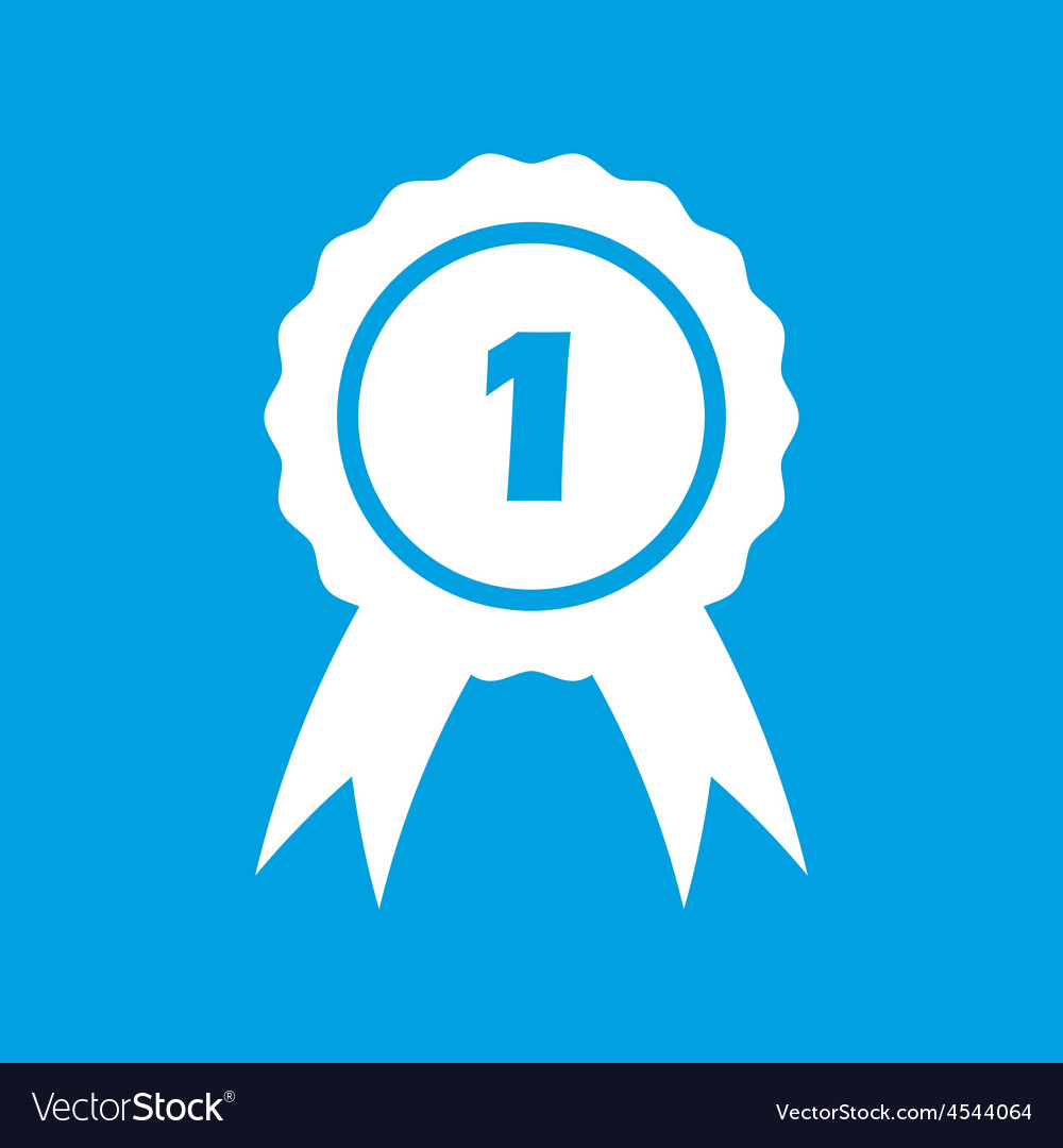 1st place symbol vector | Price: 1 Credit (USD $1)