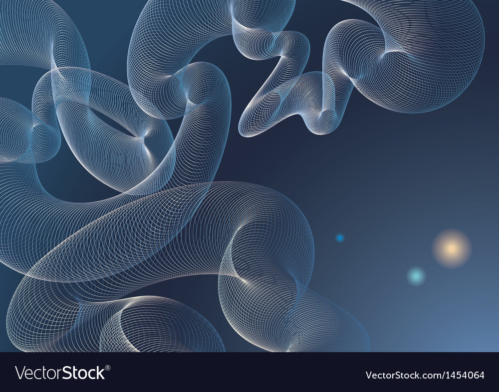 Deep blue abstract vector | Price: 1 Credit (USD $1)
