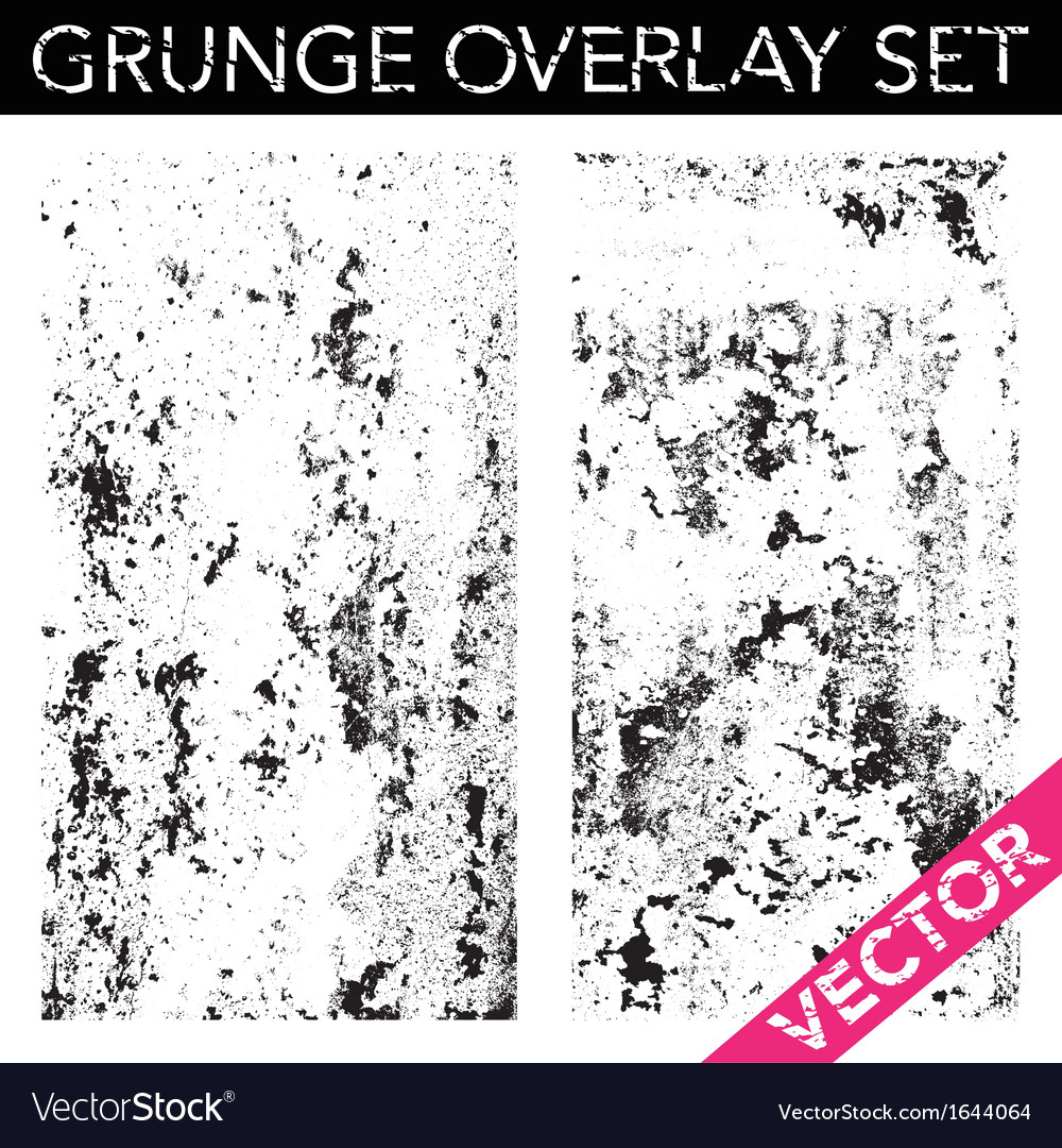 Grunge overlay vector | Price: 1 Credit (USD $1)