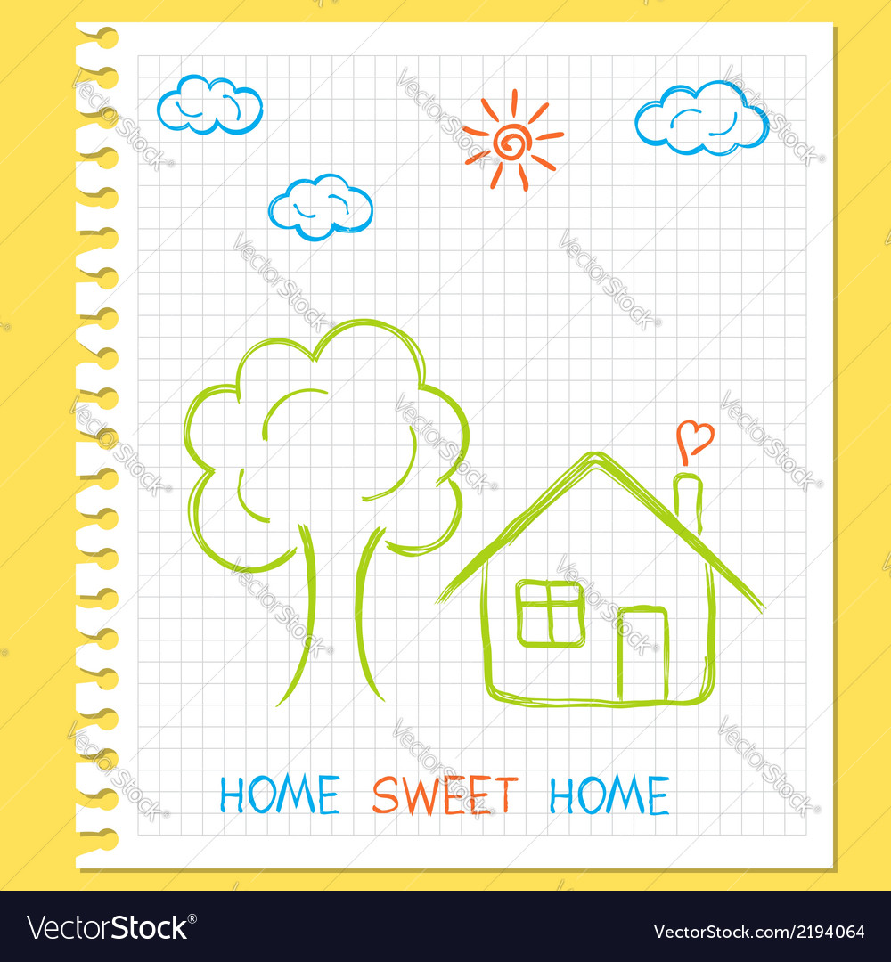 Home sweet home vector   Price: 1 Credit (USD $1)