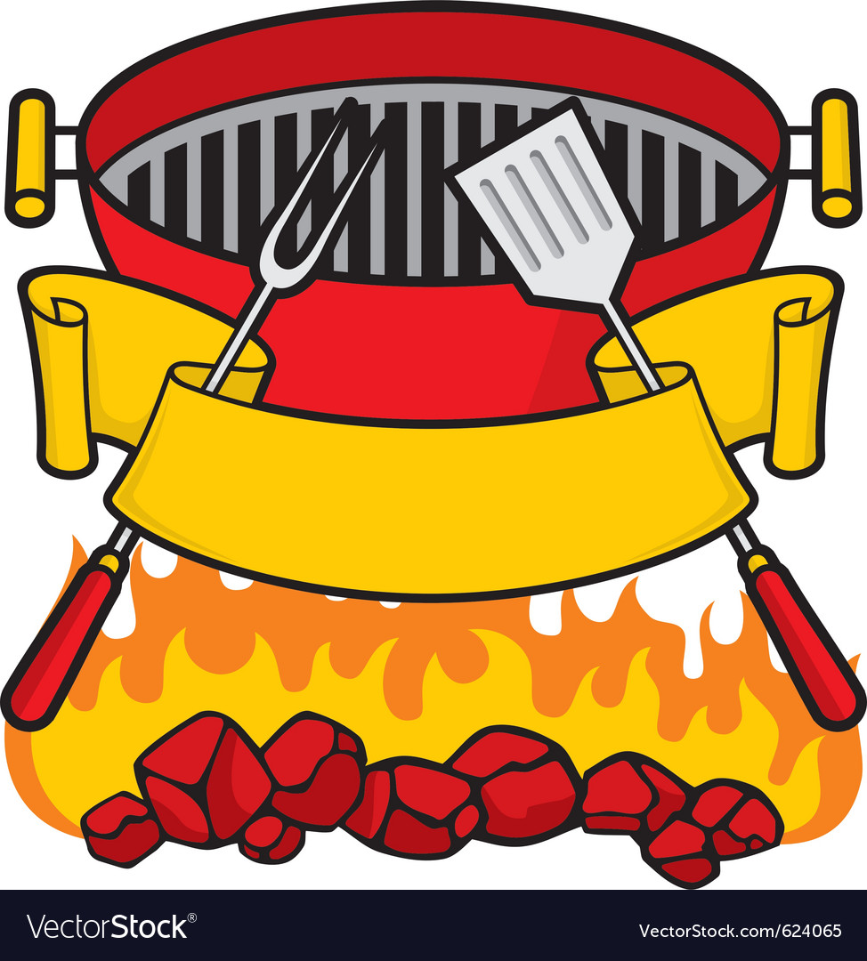 Barbeque grill vector | Price: 1 Credit (USD $1)