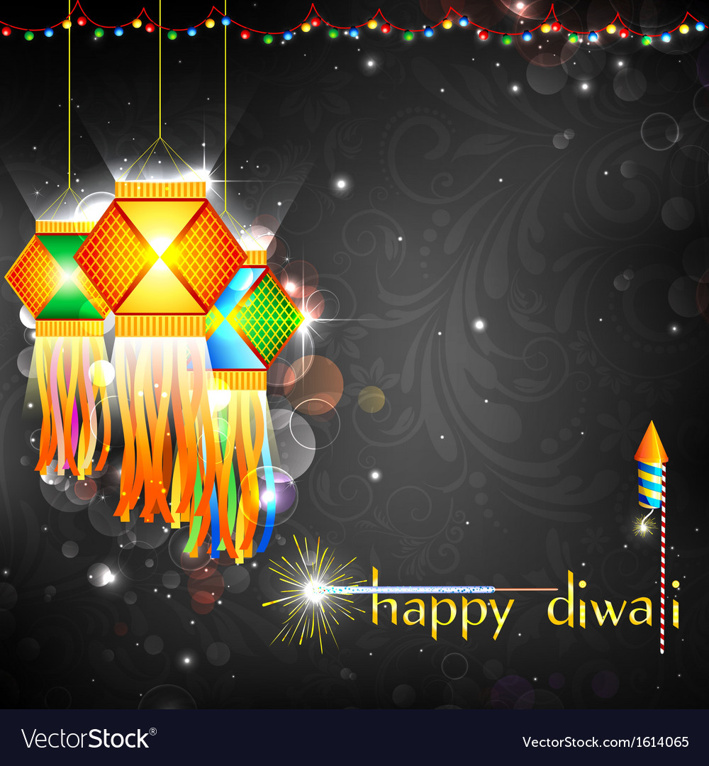 Diwali hanging lantern vector | Price: 1 Credit (USD $1)