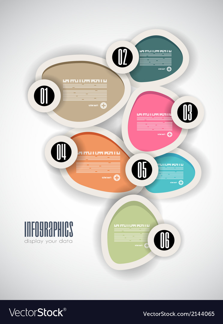 Infographics concept background to display vector | Price: 1 Credit (USD $1)
