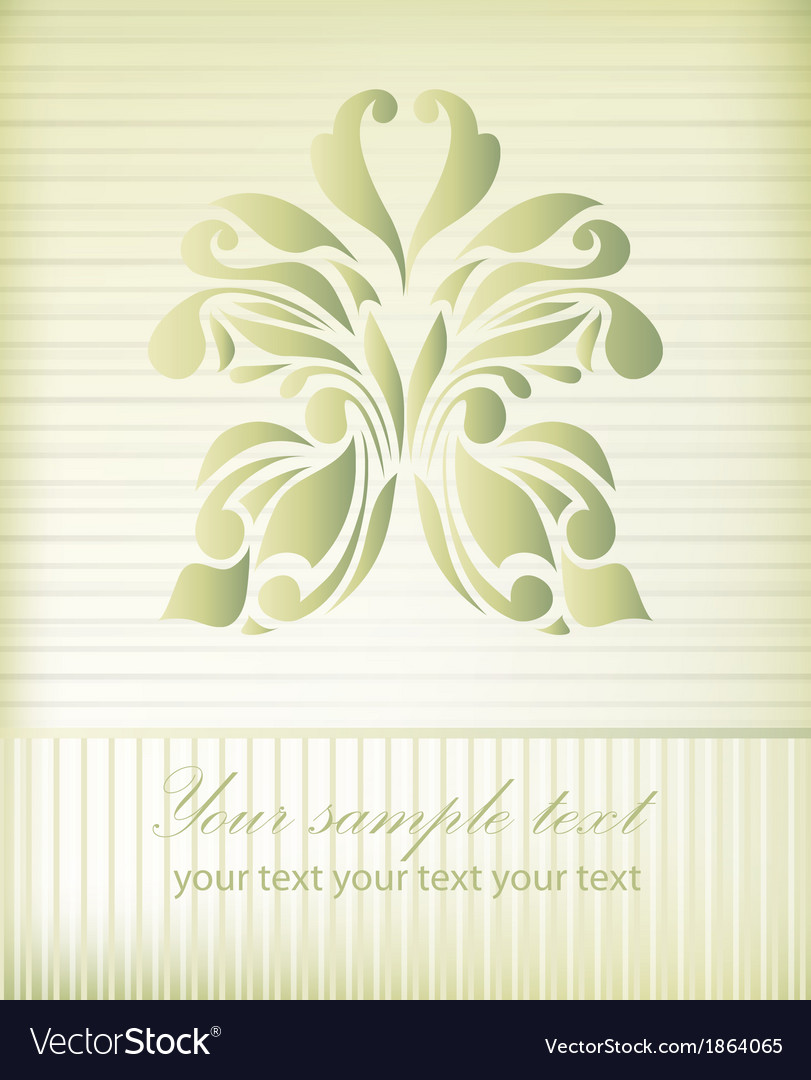 Vintage gold beautiful butterfly vector | Price: 1 Credit (USD $1)